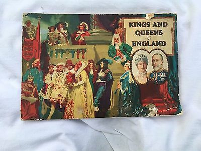 Full Set Carreras Cigarette Cards King And Queens Of England In Albumn 1935