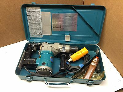 Vintage Makita 620w 110v Rotary Hammer Drill SDS-Plus HR2510 inc Carry Case Bits