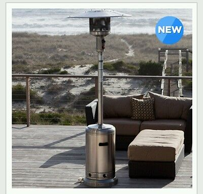 SunTastic Commercial Series Stainless Steel Patio Heater