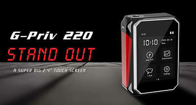 Authentic Smok G-Priv 220W Touch Screen I Tfv8 Tank I Uk Seller | In Stock