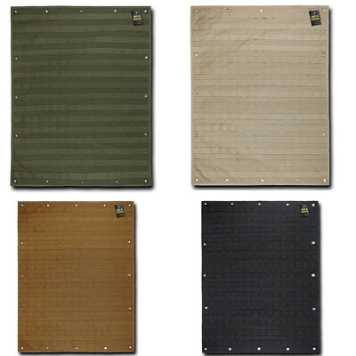 """Rapdom MOLLE Organizer Panel 24"""" x 32"""" Tactical Gear Support Mil Specs"""