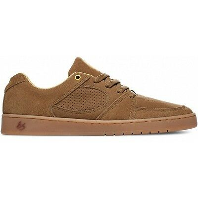 "New In Box ES ""Accel Slim"" Skate / Skateboard Shoes (Brown / Gum) Size 10.0"