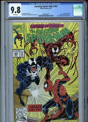 Amazing Spider-Man #362 (1992) Marvel CGC 9.8 Carnage
