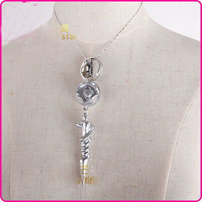 Anime Final Fantasy XIII FF13-2 SERAH FARRON Engagement Cosplay Necklace Pendant