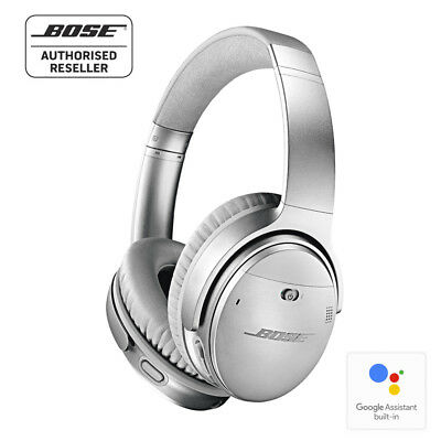 BOSE QC35 QuietComfort 35 SILVER Noise Cancelling Wireless Headphones