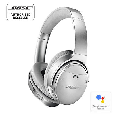 BOSE QC35 ii QuietComfort 35 Series2 Wireless Noise Cancelling Headphones SILVER