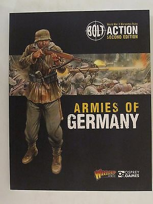 Osprey Book: Bolt Action: Armies of Germany: 2nd Edition