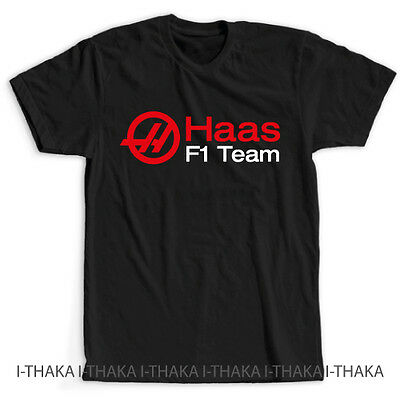 Haas F1 Racing Team Fans Logo New T-Shirt - S-3XL