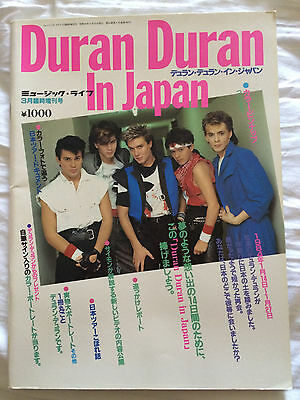 Duran Duran In Japan  1980s book/magazine. In good condition. *REDUCED!*