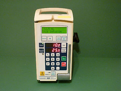 Graseby Smiths 500 Modular Volumetric Iv Infusion Pump Fluid Administration Vets