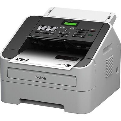 Brother IntelliFAX FAX-2840 Facsimile/Copier Machine - Laser - Monochrome Digita