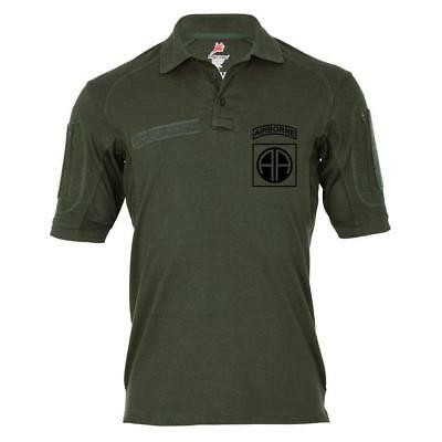 Tactical Poloshirt Alfa - 82nd Airborne Division US-Luftlandedivsion USA #19127