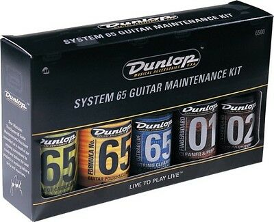 JIM DUNLOP - System 65 Complete Guitar Maintenance Gift Pack.