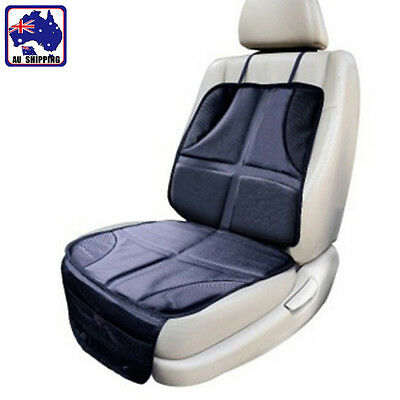 Kids Infant Safety Car Seat Protector Anti Slip Cushion Cover Black VWCC33805