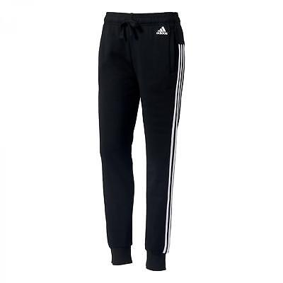 adidas Damen Trainingshose Essentials 3 Stripes Cuffed