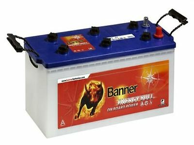 Batterie camping car cellule banner energy bull 96801 12v 230ah décharge lente