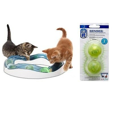 Catit Design Senses Exercise Activity Speed Circuit Game Cat / Kitten Play Toy