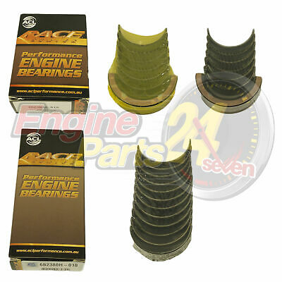 HOLDEN 6 179 186 MAIN & CONROD BEARINGS ACL RACE 7M2384H 6B2380H STD 010 or 020