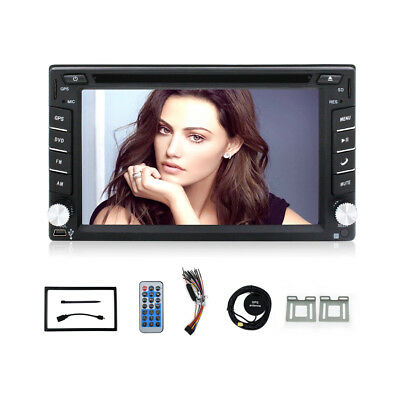 Autoradio 2Din Mit Gps Navigation Navi Bluetooth Dvd/cd Usb Sd Mp3 Touchscreen
