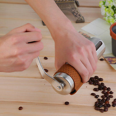 OUTAD Manual Coffee Grinder-Stainless Steel Hand Coffee Grinder Mill Tool JL