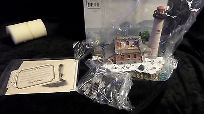 St Helena Harbour LIghts #634 Michigan - NIB with  certificates