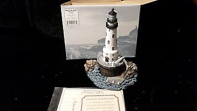 Rock of Ages Harbour LIghts #271 Michigan -NIB with  certificates