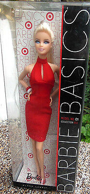 BARBIE BASICS COLLECTION RED MODEL 01 NRFB - NUOVA -model doll collection Mattel