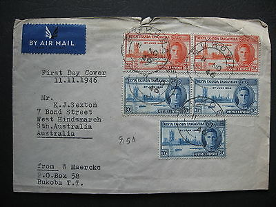 Tanganyika First Day Cover