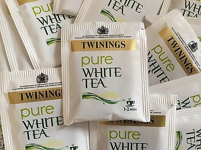 Twinings Pure White Tea - individual enveloped bags - FREE FIRST CLASS P&P