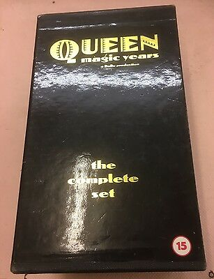 Queen Magic Years  Complete Set (Vol 1, 2 & 3 )VHS Video
