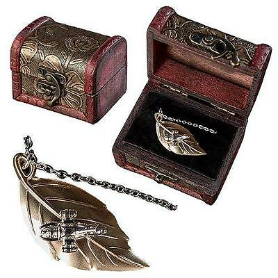 Serenity SDCC Licensed FIREFLY Ship 14k GOLD Sterling Leaf on the Wind NECKLACE