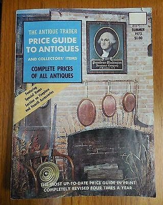 THE ANTIQUE TRADER Price Guide to Antiques and Collector's Items Summer 1973