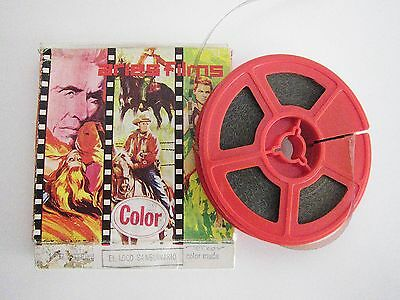 Película terror EL LOCO SANGUINARIO Super 8 ARIES FILMS Rare Original Movie