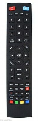 Remote Control for Blaupunkt 32/133O-WB-11B-EGDU-UK LED TV