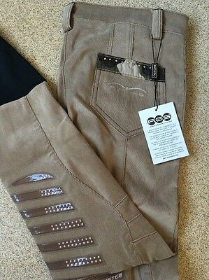 Animo  Breeches Beige i40 UK8-10 Brand new
