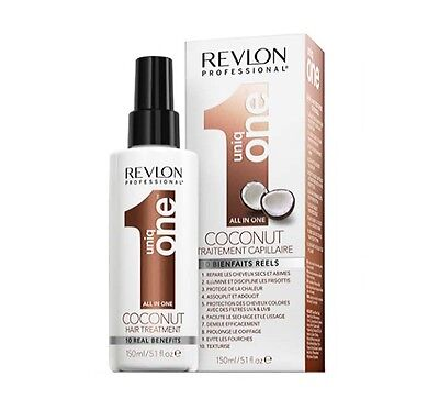 REVLON UNIQ ONE TREATMENT 10 IN 1 BEHANDLUNG COCONUT KOKOS 150 ml