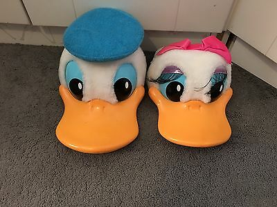 Disney World Donald And Daisy Hat SnapBack Souvenir Adult And Child