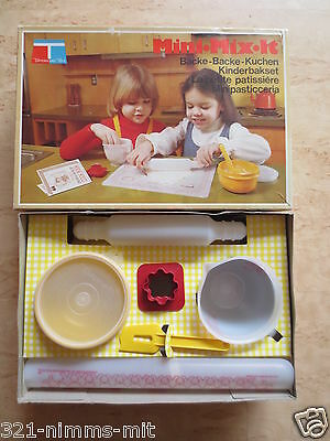 +++Tupperware Toys Mini Mix it Kinderbackset+++Vintage 70iger Jahre