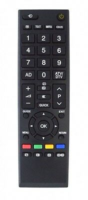 Replacement TV Remote Control For Toshiba TV CT-90326