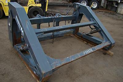 JRB Pipe Clamp Grapple Forks Pipe/Pole DTCPF 106x60 for Deere 544 Wheel Loader
