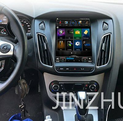 """10.4"""" Android Vertical Screen Car Radios GPS Navigation for Ford Focus 2012-2015"""
