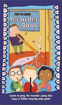 Children's Marzipan Fun to Learn Recorder Book in a Box for Boys
