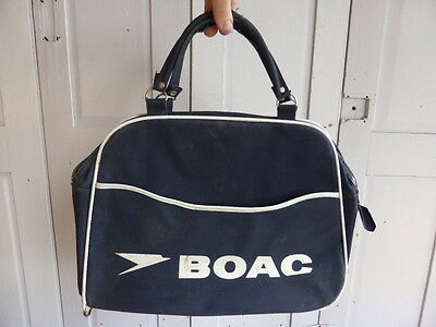 Vintage BOAC British Overseas Airways Corporation bag