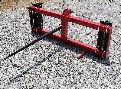 New TRI Universal Mount Front Bale Spear For Loaders.