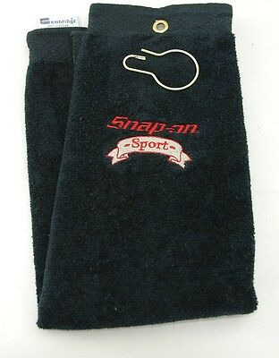 Snap-On Tools Golf Towel *NEW* Snap-On Sport Logo Embroidered (38)