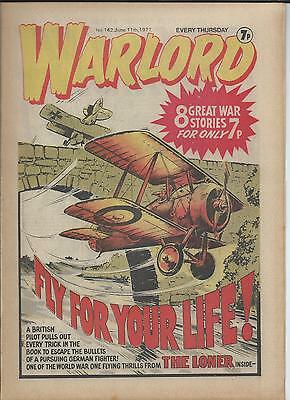 Warlord Comic number 142 , June 11th 1977