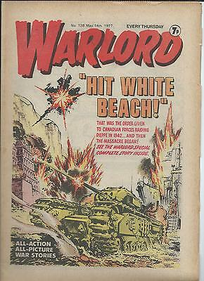 Warlord Comic number 138 , May 14th  1977