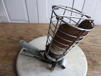 Vintage industrial decorators caged hand lamp - Briticent Gripper Hand Lamp