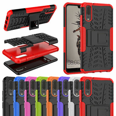 Huawei Heavy Duty Tough Shockproof With Stand Hard Case Cover For Mobile Phones