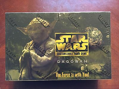 Star Wars CCG Dagobah Limited (BB) FACTORY SEALED Booster Box